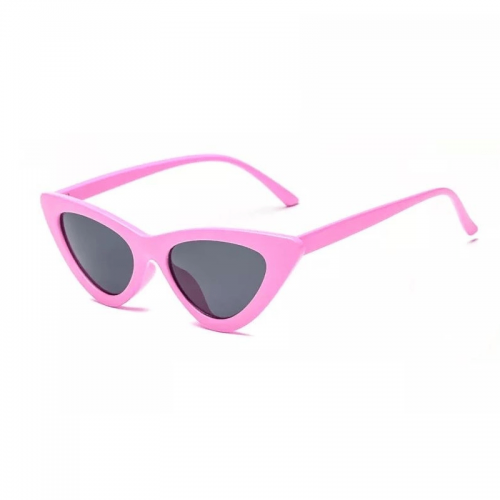 Rosa cat eye solglasögon