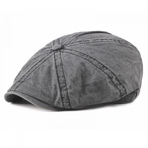 Gubbkeps flat cap
