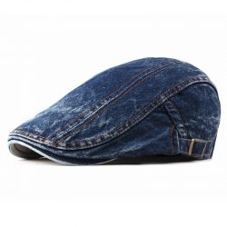 Gubbkeps blå denim