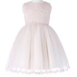 Rosa barnklänning brudnäbb