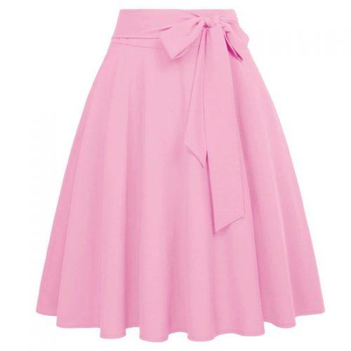 rosa swingkjol