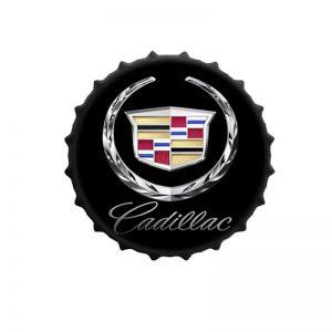 retro plåtskylt Cadillac