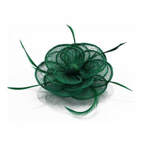 mörkgrön hårblomma damhatt