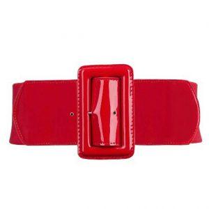 elastisk rött resårbälte