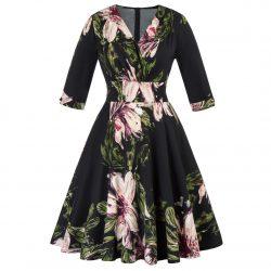 Svart klänning plus size