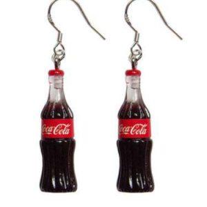 Örhänge små tuffa flaskor