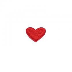 Tygmärke rött hjärta