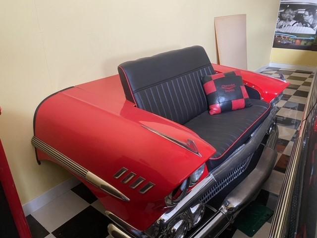 Soffa av Chevrolet front