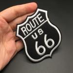 Route 66 borderat tygmärke