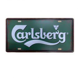 Plåtskylt carlsberg