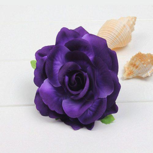 hårblomma lila