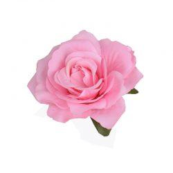 Rosa hårblomma