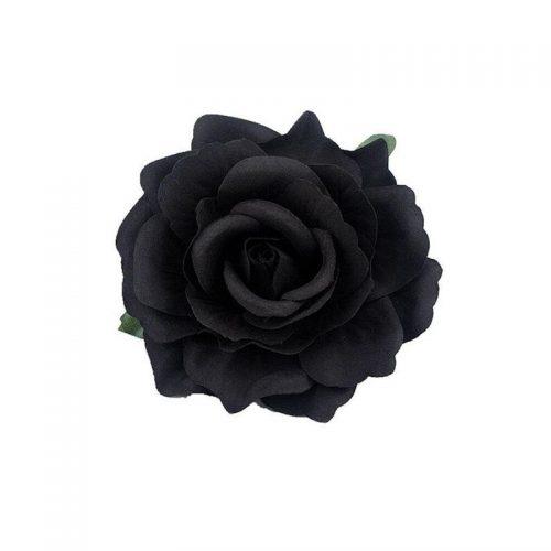 Hårblomma svart