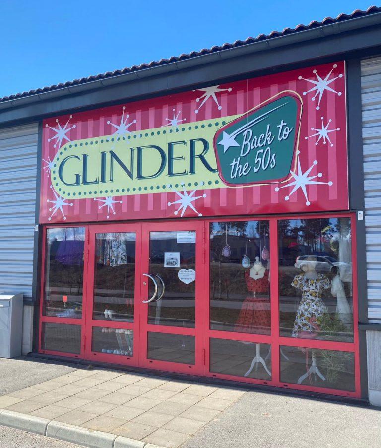 Glinder retrobutik i Mjölby