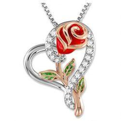 Halsband med ros