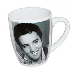 Porslinsmugg Elvis Presley 50 tal retro