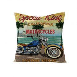 Kuddfodral motorcykel 50 tal rockabilly