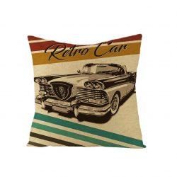 Kuddfodral retro car 50 tals rockabilly